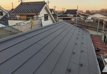 川崎市宮前区|アルミ型材下地を使った瓦葺き替え工事