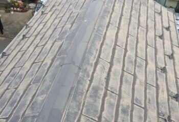 屋根塗装をしたスレート屋根