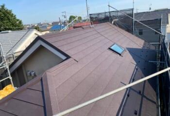 さいたま市西区 | 天窓を補修と屋根カバー工法